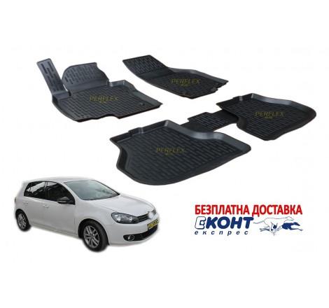 Гумени стелки тип леген 3D за VW Golf 6 (2009-2013) [G9019]