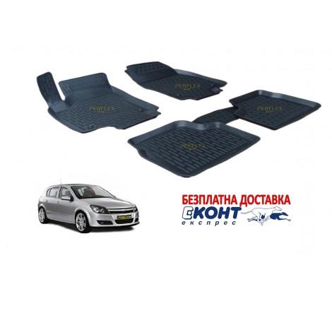 Гумени стелки тип леген 3D за Opel Astra H (2004-2009) [G1923]