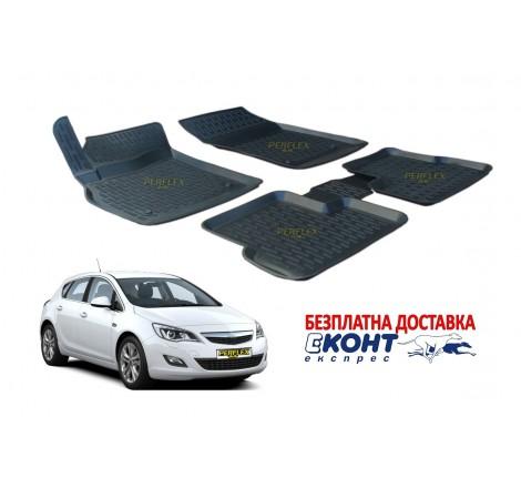 Гумени стелки тип леген 3D за Opel Astra J (2010-2016) [G1924]
