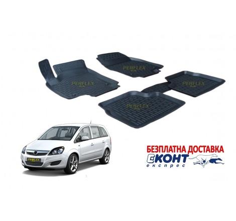 Гумени стелки тип леген 3D за Opel Zafira B (2005+) [G1925]