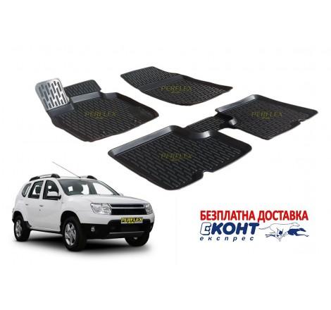 Гумени стелки тип леген 3D за Dacia Duster (2010+) [G2806]