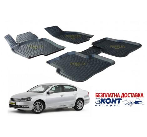 Гумени стелки тип леген 3D за VW Passat B7 (2011-2015) [G9022]