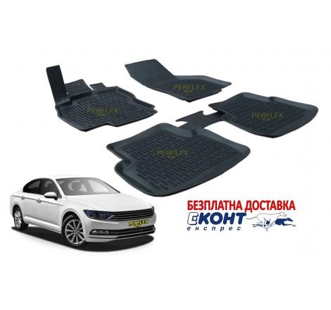 Гумени стелки тип леген 3D за VW Passat B8 (2015+) [G9023]