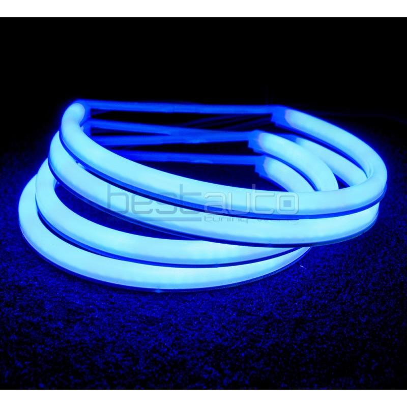 """LED SMD АНГЕЛСКИ ОЧИ """"STRONG POWER"""" ЗА BMW E46 (1998-2005) - сини"""