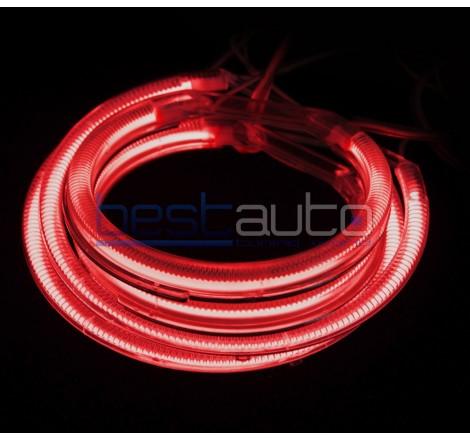 "CCFL Ангелски очи ""BESTAUTO"" - червени за BMW E46 за фарове с лупа (1998-2005)"