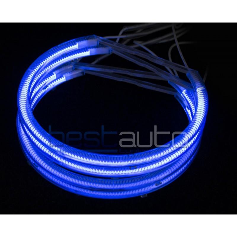 "CCFL Ангелски очи ""BESTAUTO"" - сини за BMW E46 за фарове с лупа (1998-2001) (2001-2005) [93036]"