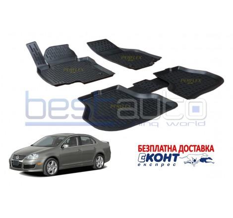 Гумени стелки тип леген 3D за VW Jetta 5 (2005-2010) [G9018]