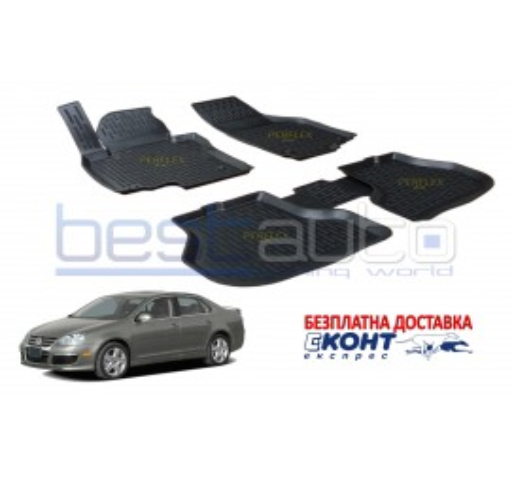 Гумени стелки тип леген 3D за VW Scirocco 3 (2009+) [G9018]