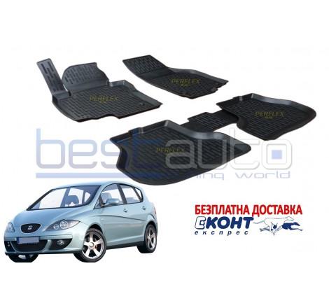 Гумени стелки тип леген 3D за Seat Toledo 3 (2004-2009) [G1618]