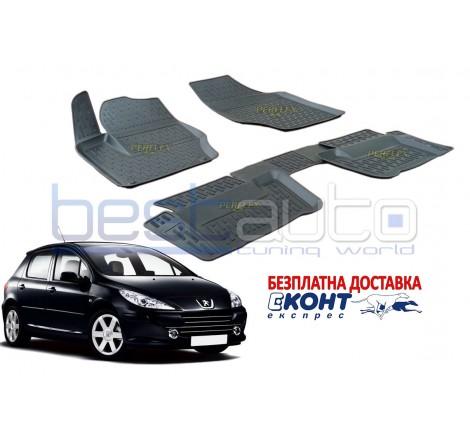 Гумени стелки тип леген 3D за Peugeot 307 (2001-2008) [G7021]