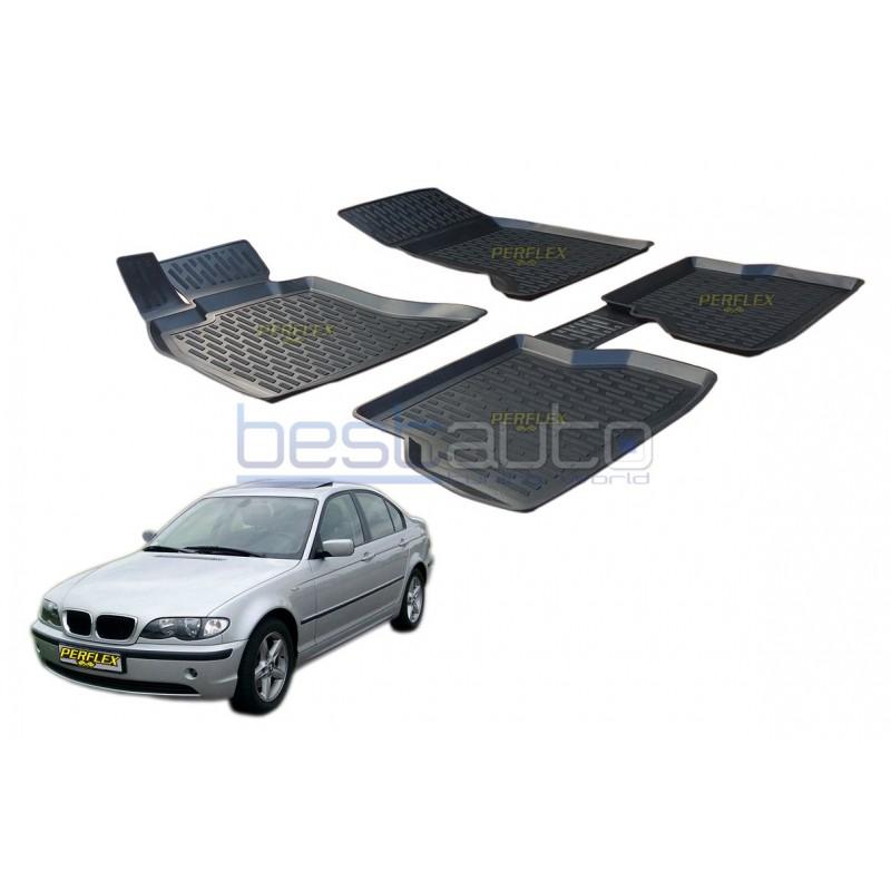 Гумени стелки тип леген 3D за БМВ Е46 / BMW E46 [G3041]