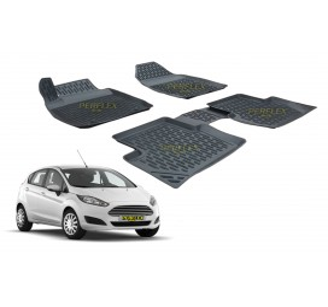 Гумени стелки тип леген 3D за Ford Fiesta (2009+) [G6058]