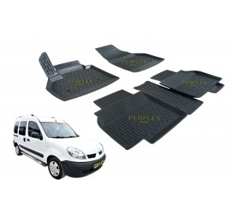 Гумени стелки тип леген 3D за Renault Kangoo (2009-) [G8025]