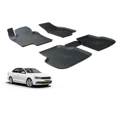 Гумени стелки тип леген 3D за VW Jetta 6 (2011-) [G9026]