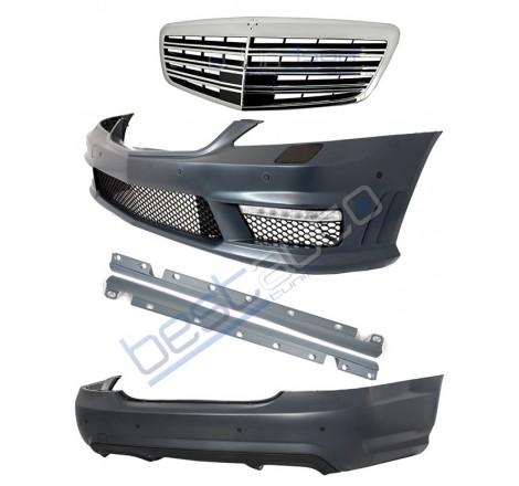 S65 AMG дизайн пакет с рeшетка за Mercedes S класа W221 (2005-2012)