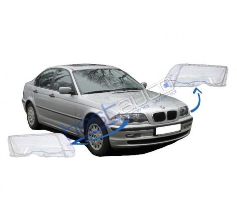 Стъкла за фарове за BMW E46 Седан / Комби (1998-2001)