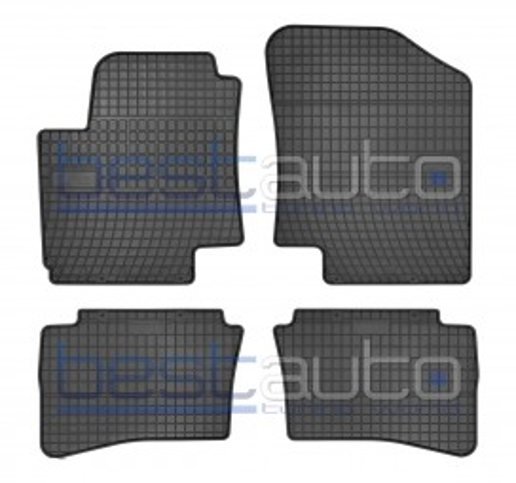 Гумени стелки Frogum за Хюндай И20 / Hyundai i20 (2008-2015)