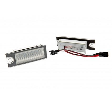 LED плафони за регистрационен номер за Volvo V70/XC70/S60/S80/XC90