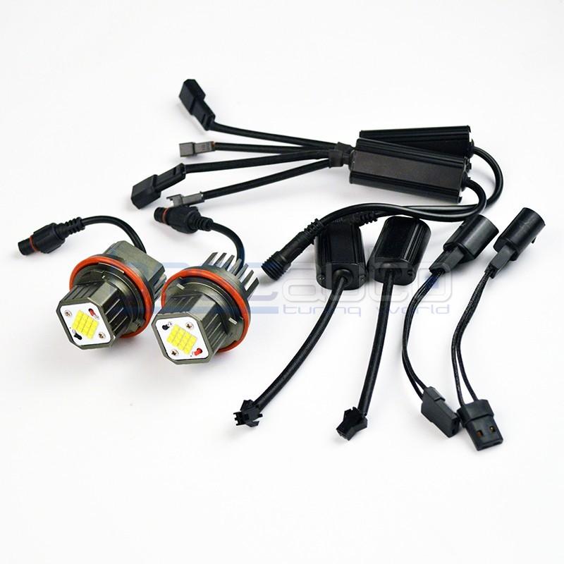 LED крушки за фабрични ангелски очи 160W за BMW - бели