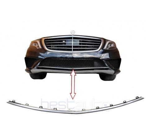 Спойлер AMG дизайн за предна броня за Mercedes S-Class W222 (2013+)