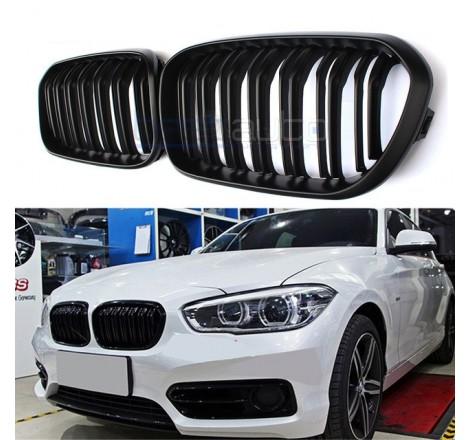 Бъбреци за BMW 1-ва серия F20 / F21 Черен Гланц Двойни
