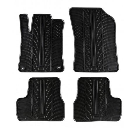 Автомобилни гумени стелки за Citroen C3 / 5 врати (2010) [G300017]