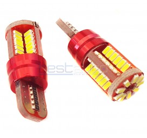 LED крушки Canbus за габарит / интериор T10 W5W - 2 броя [8053]