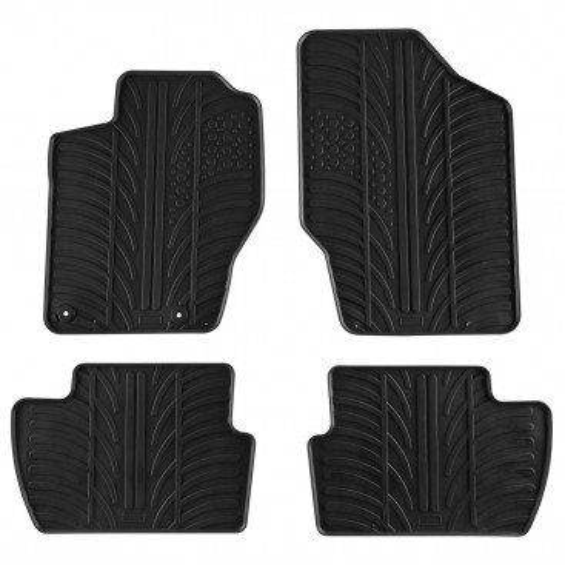 Автомобилни гумени стелки за Citroen C4 (2005-2009) [G300014]