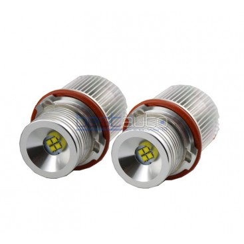 LED крушки за фабрични ангелски очи 25W за BMW E65 (2001-2008) - бели