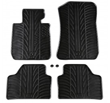 Автомобилни гумени стелки Gledring за BMW X1 (2009+) [G3001]