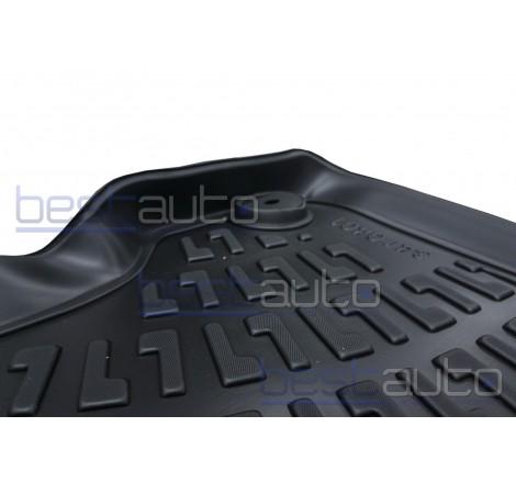 3D Автомобилни гумени стелки GMAX тип леген за Mitsubishi L200 (2006-2015)