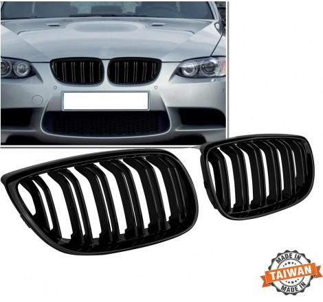 Бъбреци за BMW E92/E93 (2006-2009) Черен Гланц Двойни