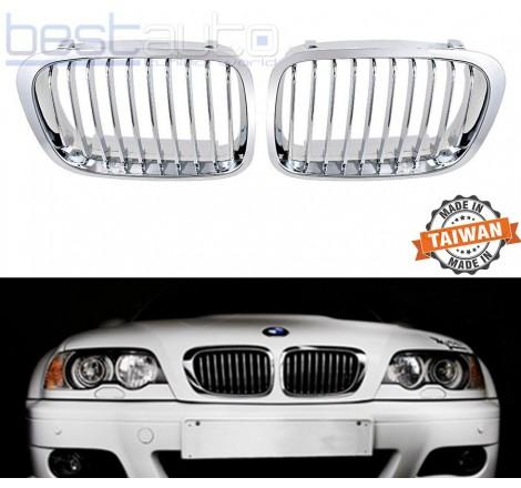 Бъбреци за BMW E46 (1998-2001) Хром