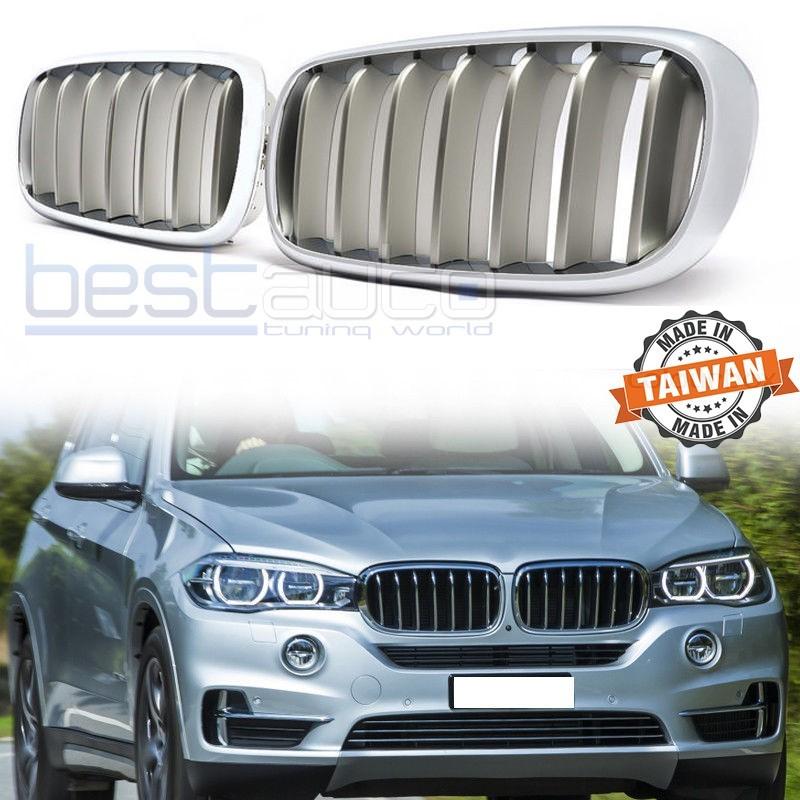 Бъбреци за BMW X5 F15 (13+) / X6 F16 (14+) Хром / Сиви