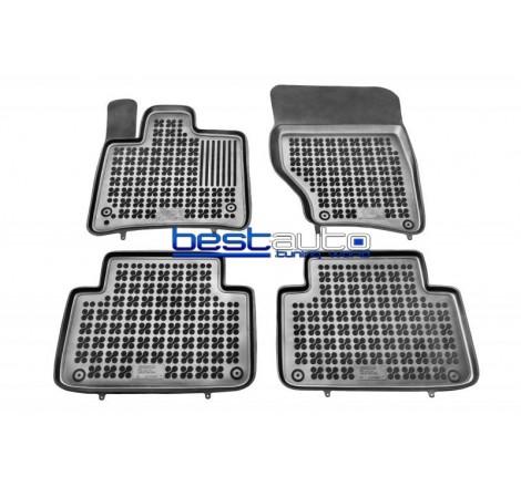 Комплект гумени стелки за купе и багажник Rezaw Plast за AUDI Q7 (2006-2014)