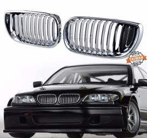 Бъбреци за BMW E46 Купе Фейслифт (2003-2006) Хром