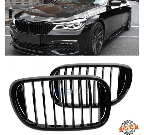 Бъбреци за BMW G11 / G12 (2015+) Черен Гланц