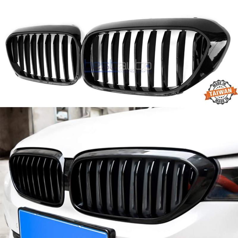 Бъбреци за BMW G30 / G31 / G38 (2017+) Черен Гланц