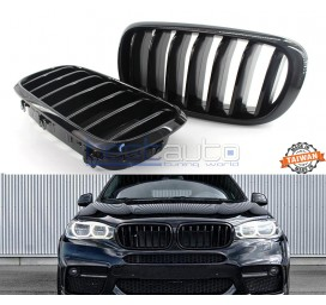 Бъбреци за BMW X5 F15 (13+) / X6 F16 (14+) Черен Гланц