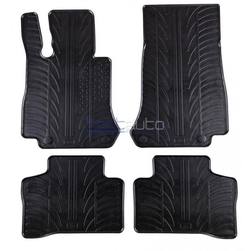 Автомобилни гумени стелки Gledring за Mercedes GLC X253 (15+)