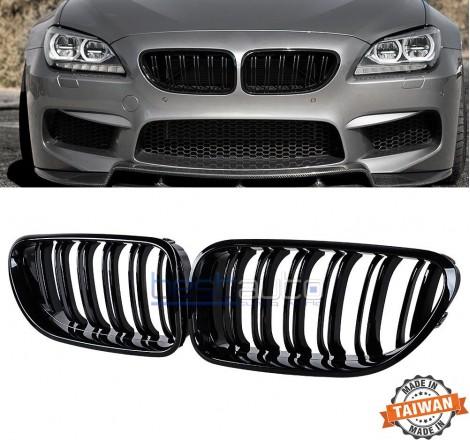 Бъбреци за BMW F06 F12 F13 (2011+) Черен Гланц Двойни