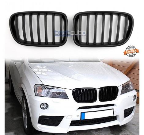 Бъбреци за BMW X3 F25 (2010+) Черен Мат