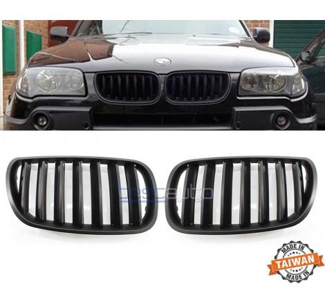 Бъбреци за BMW X3 E83 (2004-2007) Черен Мат