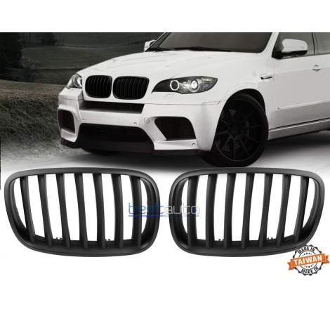 Бъбреци за BMW X5 E70 (2007+) / X6 E71 (2008+) Черен Мат
