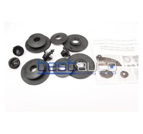 Автомобилни Гумени Стелки Rezaw Plast тип леген за BMW X5 E70 (2006+)
