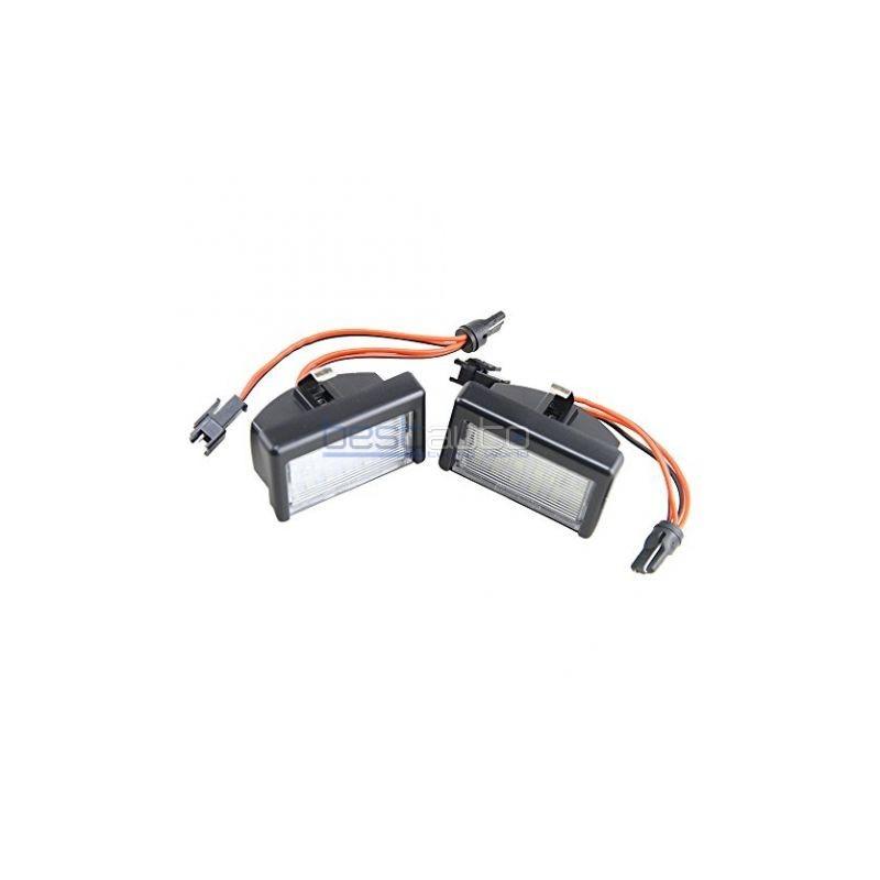 LED плафони за регистрационен номер за Mercedes ML W164 (2009+) / GL X164 (2006-2012) с Т10 крушка