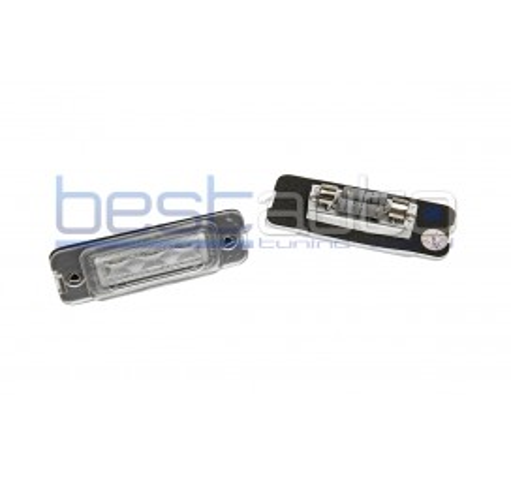 LED плафони за регистрационен номер за Mercedes ML W164 (2009+) / GL X164 (2006-2012)