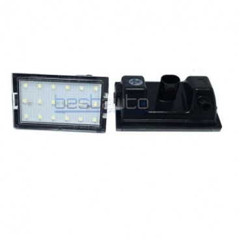 LED плафони за регистрационен номер за Land Rover Discovery (2004+) / Freelander 2 (2007+) / Range Rover Sport (2005+)