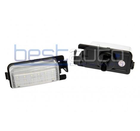 LED плафони за регистрационен номер за Infiniti G35 / G37