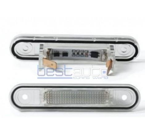 LED плафони за регистрационен номер за Mercedes W124 седан / 190 W201 (1982-1998)